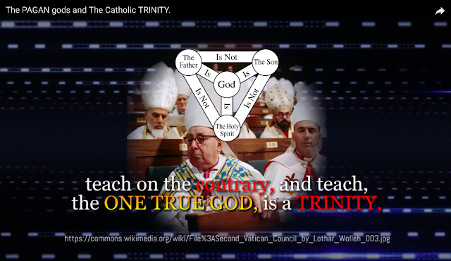 teach on the contrary, and teach, the ONE TRUE GOD, is a TRINITY,