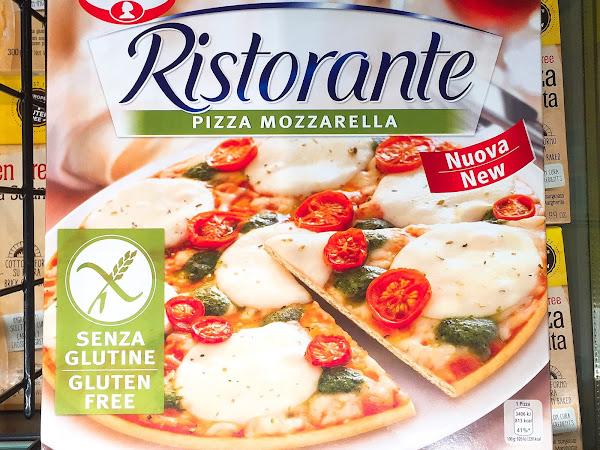 glutenfreie Ristorante Pizza von Dr. Oetker