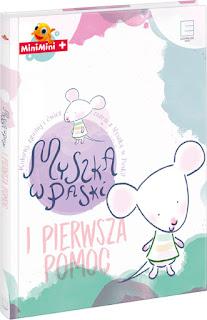 Edipresse Książki- Myszka w paski i pierwsza pomoc