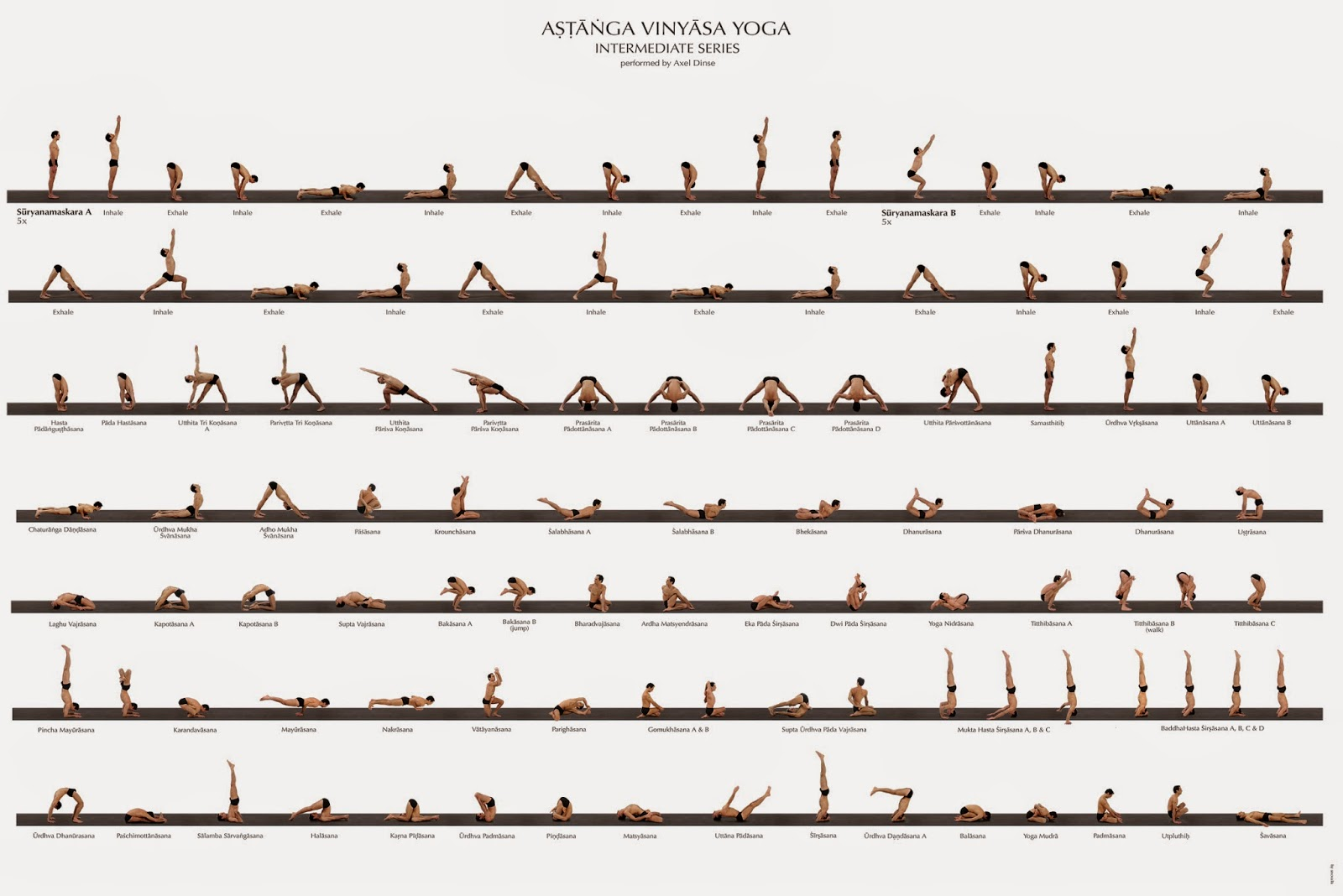 Nadi Sodhana Intermediate Series Of Ashtanga Yoga
