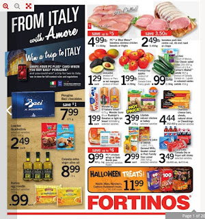 Fortinos Ontario Flyer October 26 - November 1, 2017