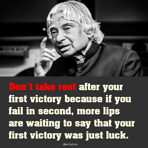 APJ- victory quote