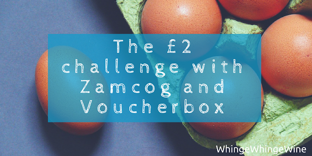 Can you feed your family for £2? The £2 challenge with Zamcog and Voucherbox