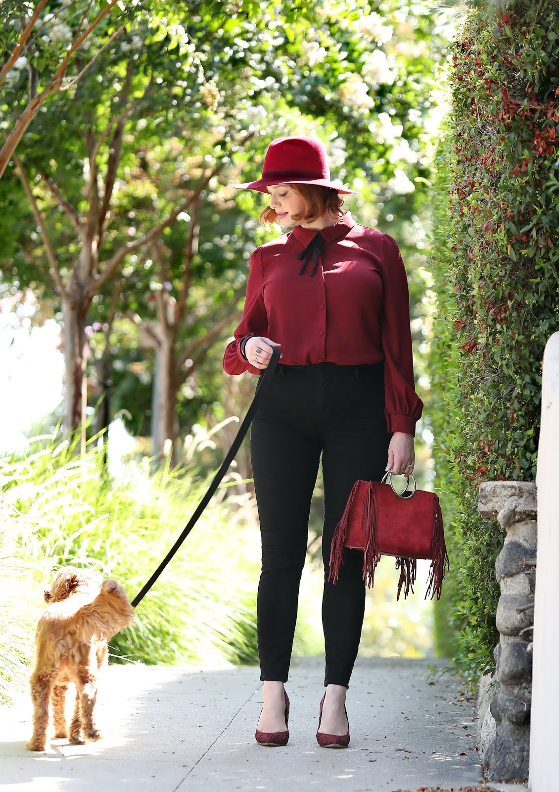 Christina Hendricks out and about, Los Angeles