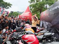 Ratusan Bikers Hadiri CBR Day Di Semarang