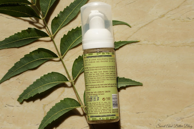 Kama Ayurveda Anti-Acne Cleansing Foam with Neem, Tulsi & Tea Tree Ingredients