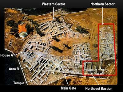 Εκφάνσεις εκμινωισμού: Νέα στοιχεία από τον Βόρειο Τομέα της Αγίας Ειρήνης Κέας