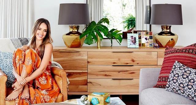 غرفة نوم Jessica Alba