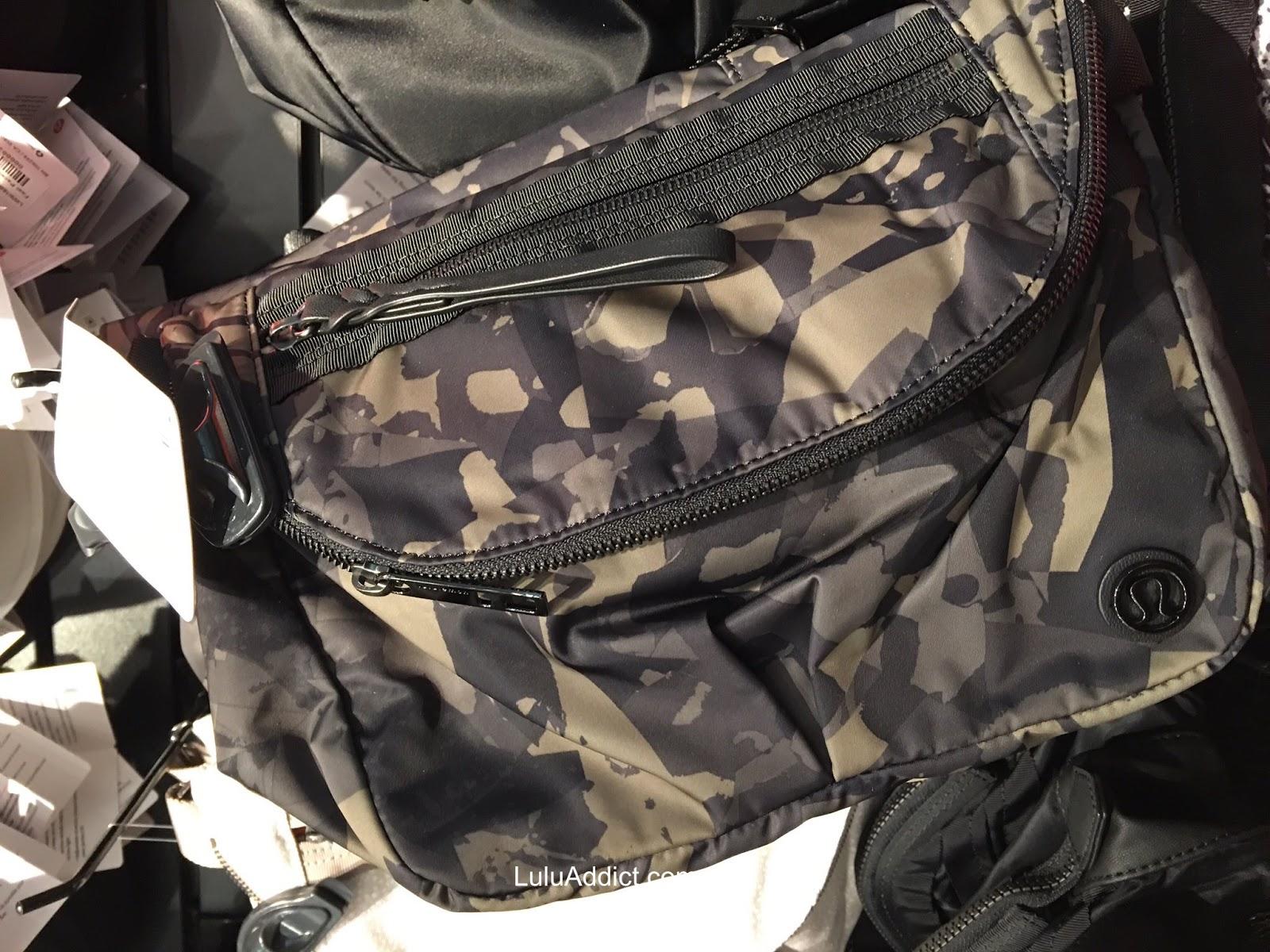 dd9e1ca2c8 Lululemon Addict  Pop Cut Fatigue Festival Bag in US Stores and More