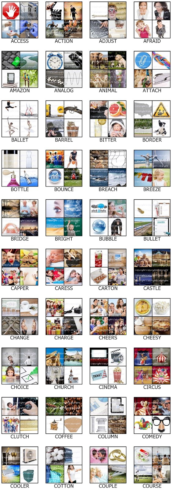 4 Pic One Word Cheat 6 Letters Image Collections Letter Format