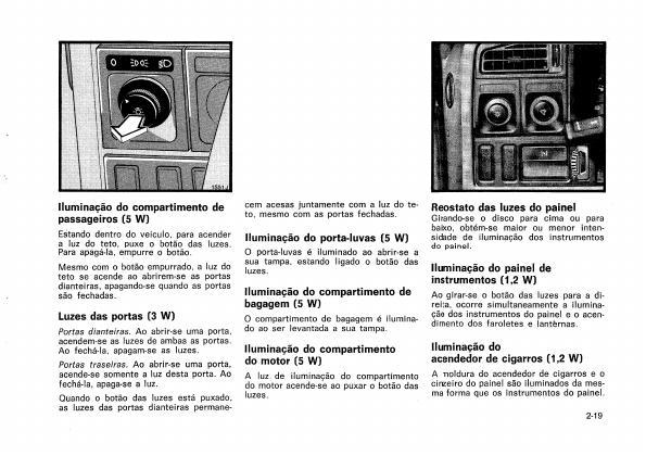 MANUAIS DO PROPRIETÁRIO GRÁTIS: MANUAL DO GM MONZA 1982