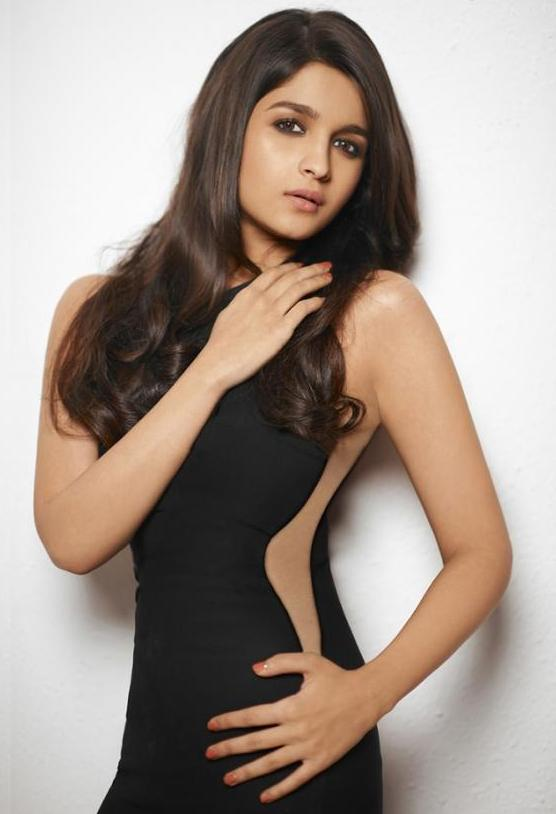 Alia Bhatt Photoshoot Gallery In Black Dress