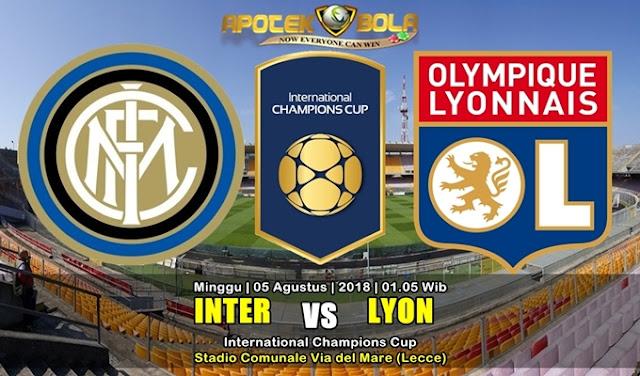 Prediksi Inter vs Lyon 5 Agustus 2018