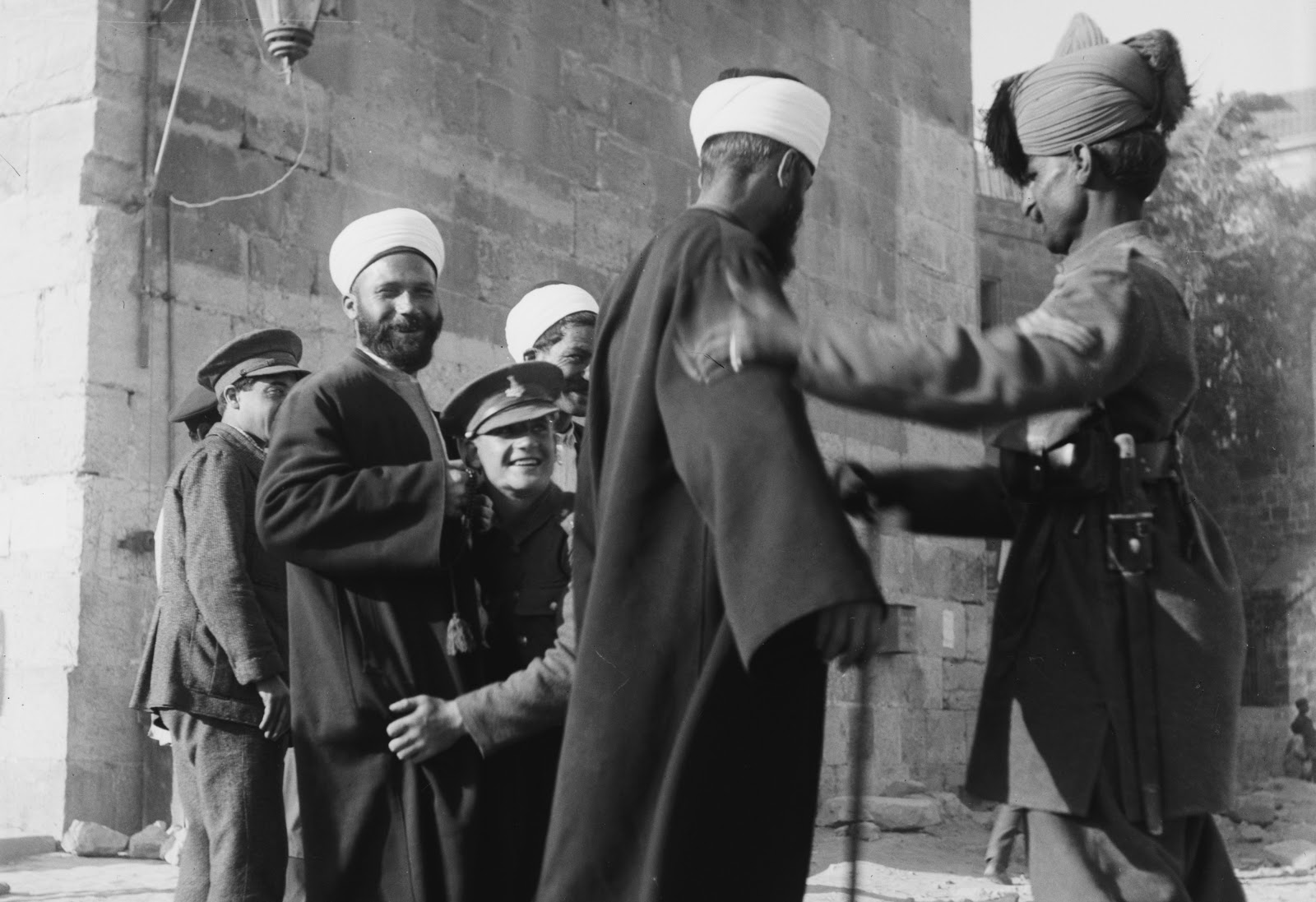 """1920 Nebi Musa Riots: Horror On The Orient Express: """"A Street In Constantinople"""