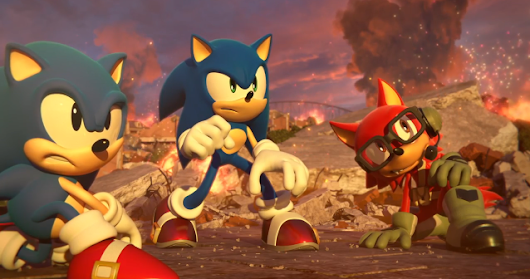 Novo Trailer do Sonic Forces !