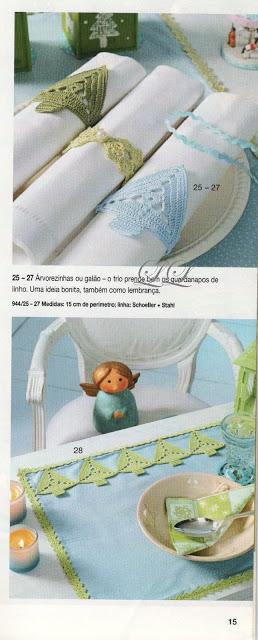 Rond de serviette sapin