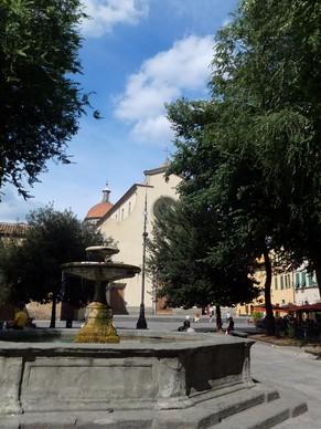 florence toscane oltrarno piazza santo spirito