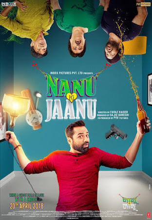 Poster Of Bollywood Movie Nanu Ki Jaanu 2018 300MB Pdvd Full Hindi Movie
