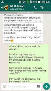 Warih-Homestay-Testimoni-Pn-Azizah
