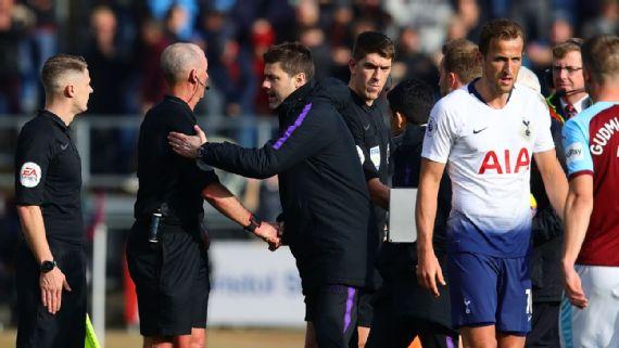 Trực tiếp Tottenham: Pochettino bị cấm hai trận vì trọng tài Mike Dean
