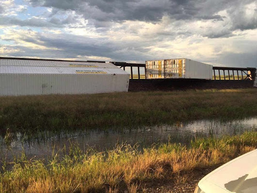 Train Car Filled With Rogue Beer Derailed In Montana ~  - Bringing Good Beers & Good People Together...