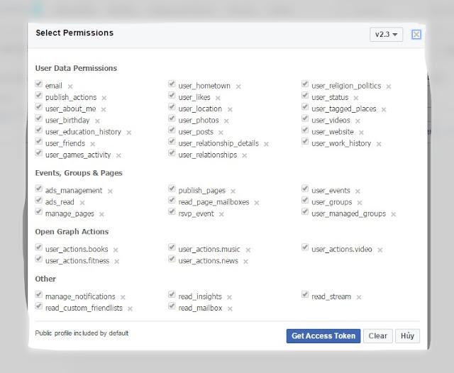tool đăng tin lên facebook