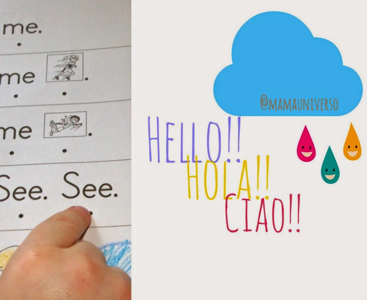 Cómo enseñar a mi bebé otro idioma