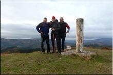 Durako Gain mendiaren gailurra 814 m. -- 2016ko azaroaren 20an