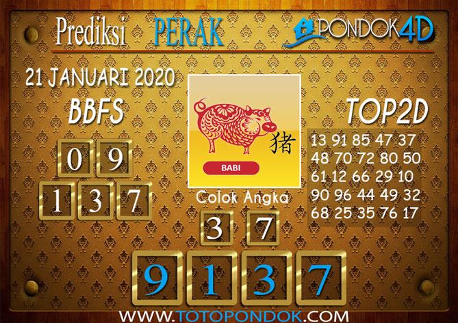 Prediksi Togel PERAK PONDOK4D 21 JANUARI 2020