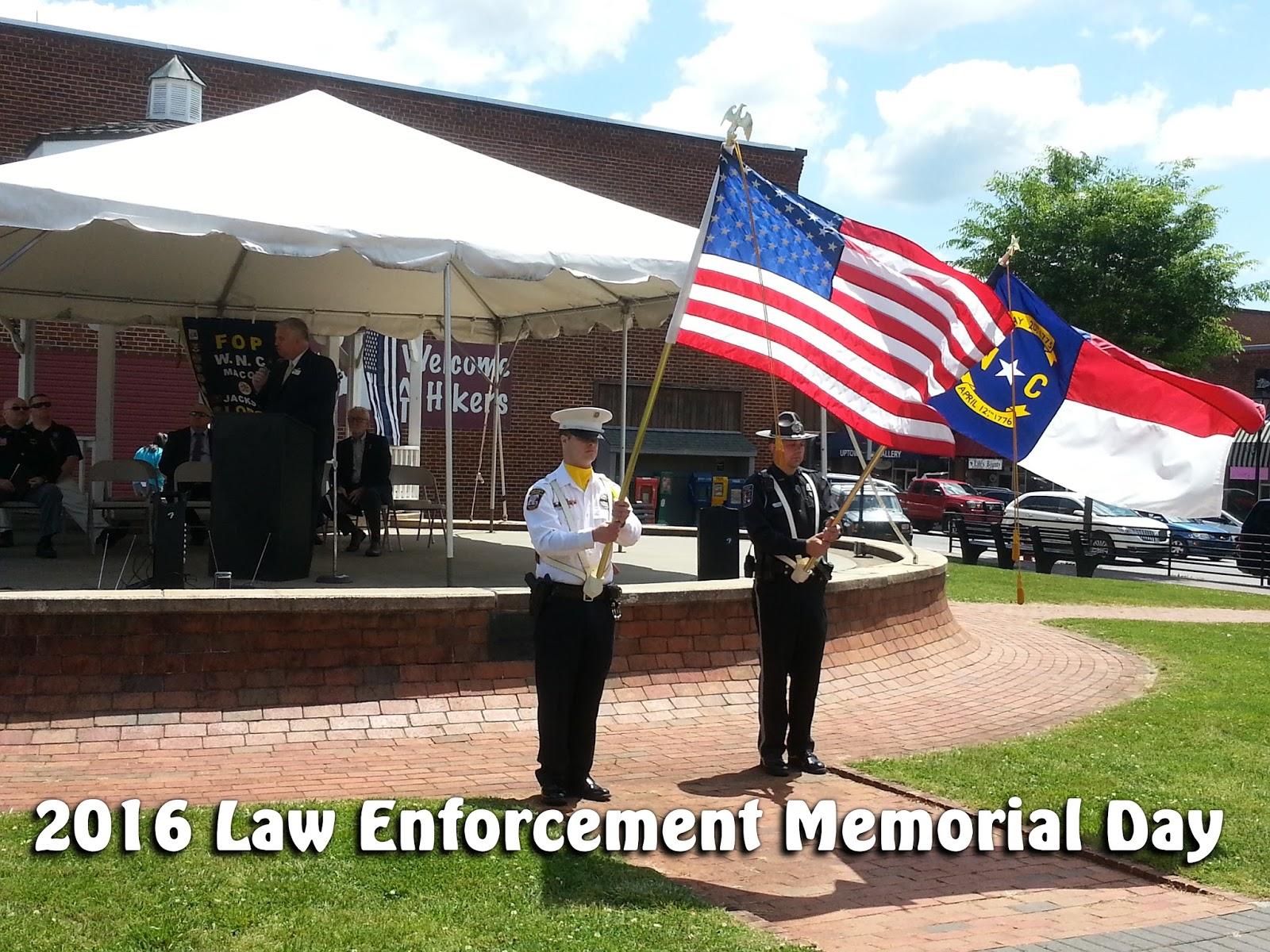 2016 Law Enforcement Memorial Day