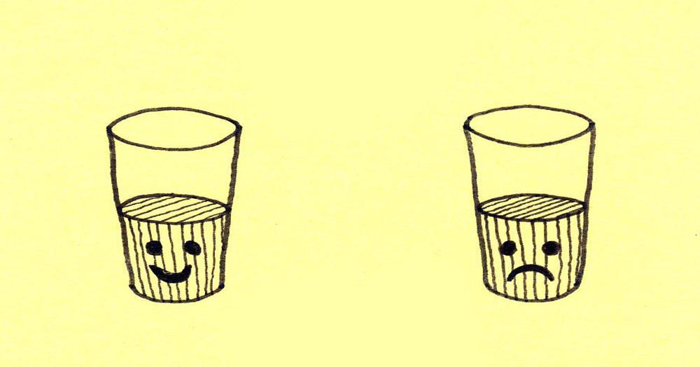 Non importa se il bicchiere è mezzo pieno o mezzo vuoto, l'importante è continuare a riempirlo