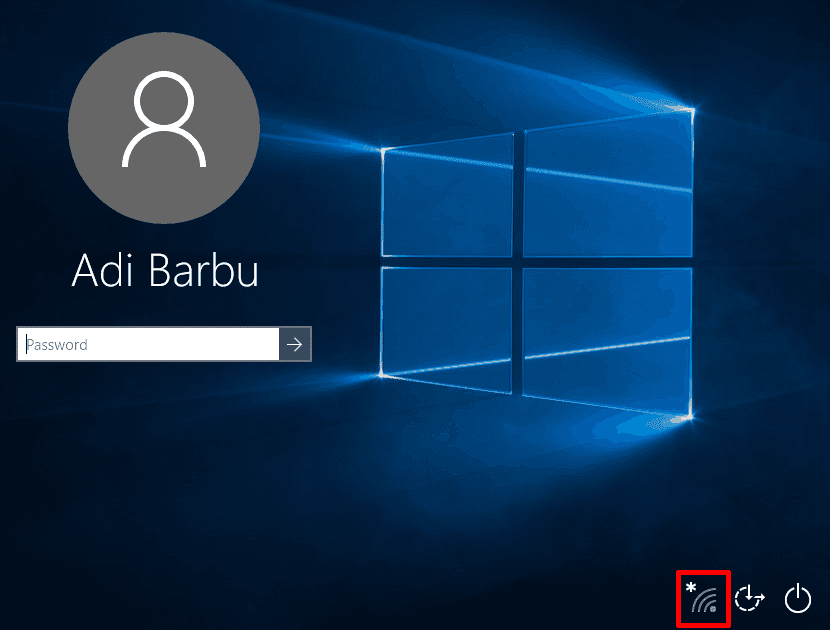 Ecran logare Windows 10