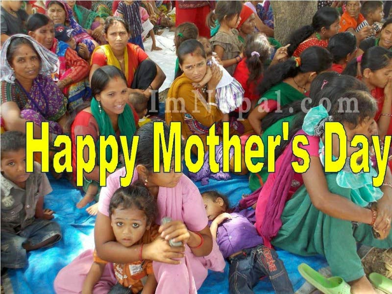 Happy+Mother's+Day+in+Nepal++Greeting+Cards