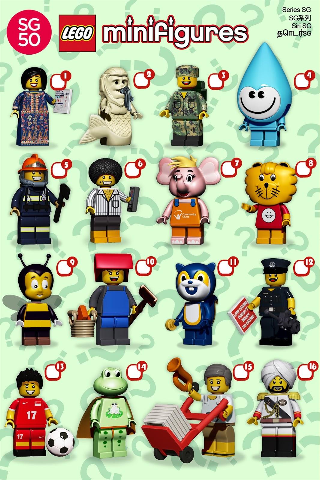 Everythingwillflogallery Lego Singapore Icons