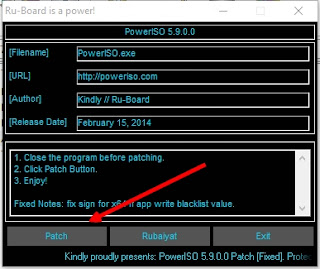 patch power iso terbaru