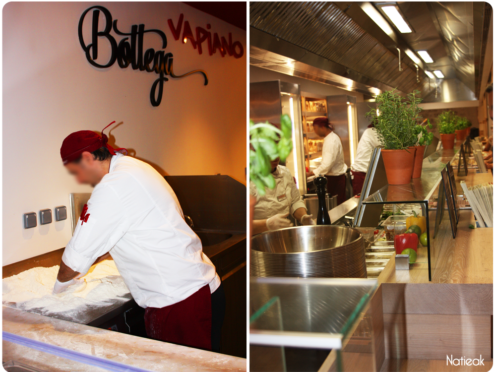 Le restaurant Vapiano de Bercy Village  Pasta/Pizza et Bar