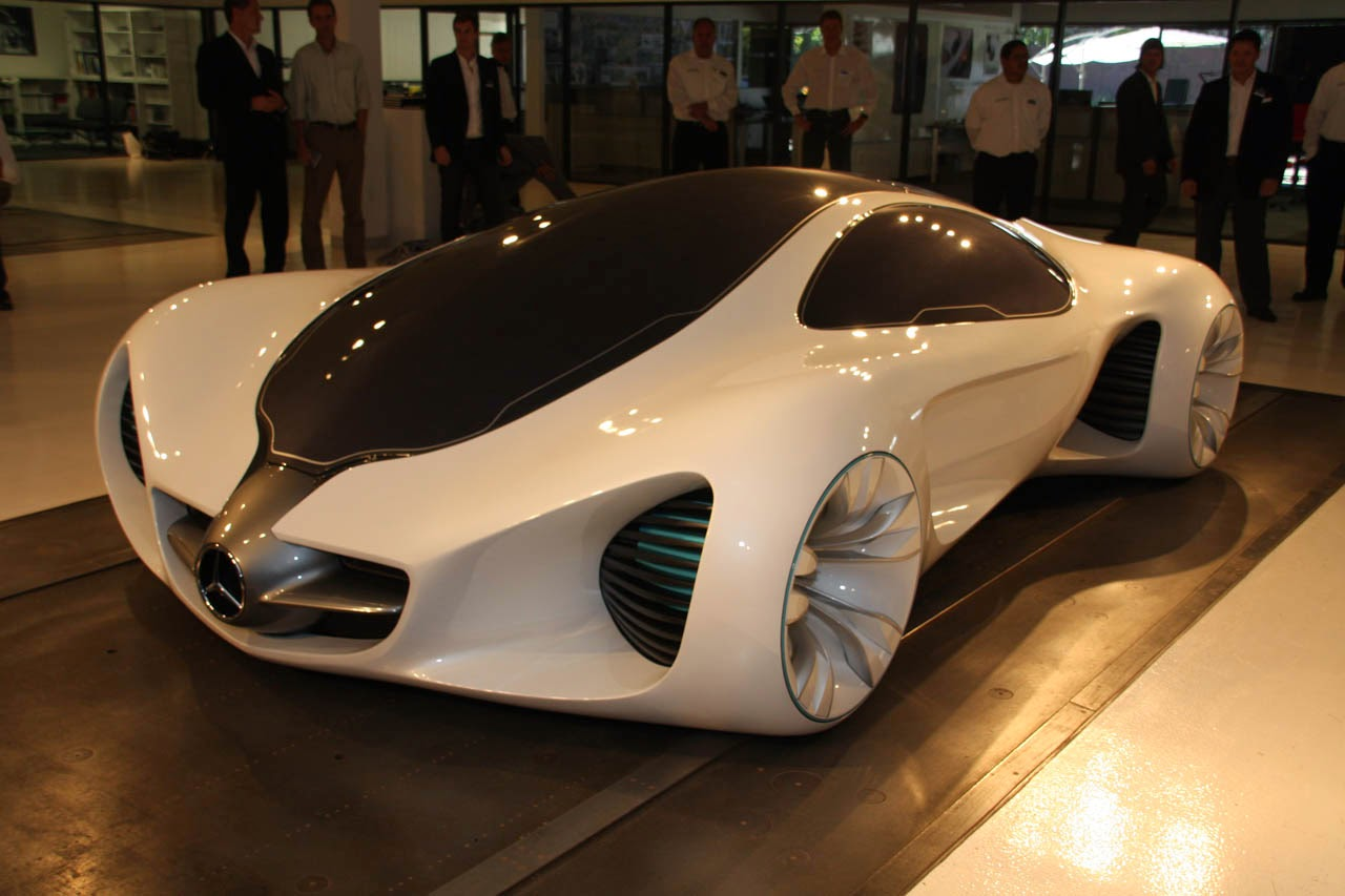 La 2010 mercedes benz biome concept smart weight watch maybach drs photos