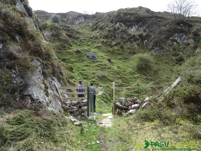 Portilla en el camino hacia el Pico Faceu