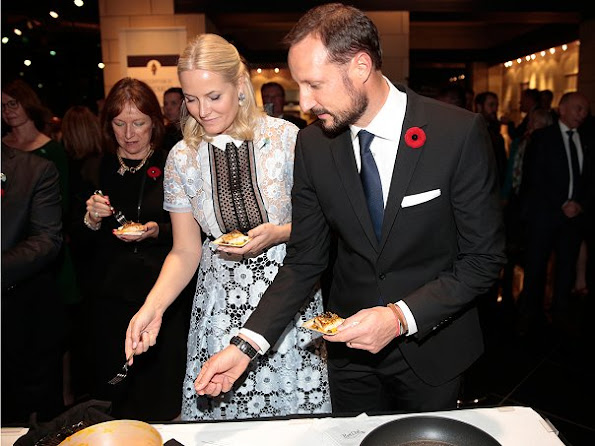 Crown Prince Haakon and Crown Princess Mette Marit of Norway attended a business reception in St. John's