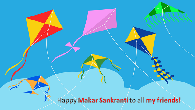 Happy Makar Sankranti to my Blogger, Visitor Friends.