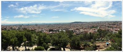 Barcelona; Conhecendo a Europa; sem guia; turismo na espanha; Park Guell; Turó de les tres creus; calvário das três cruzes;