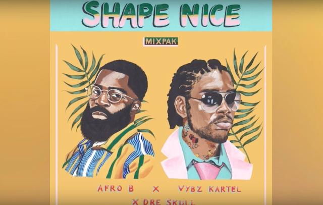 Afro B, Vybz Kartel & Dre Skull - Shape Nice - Single