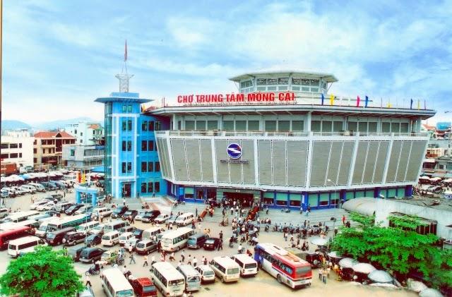 chợ móng cái trung tâm mua sắm vùng biên