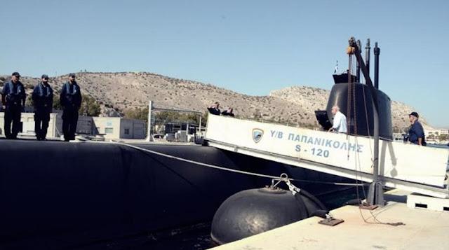 Η εντυπωσιακή άσκηση και βολή του υποβρυχίου ΠΑΠΑΝΙΚΟΛΗΣ (ΦΩΤΟ)