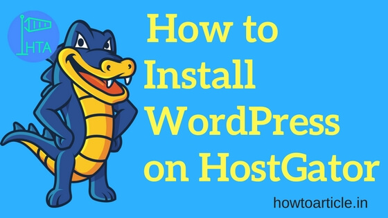How to Install WordPress - Hostgator hosting