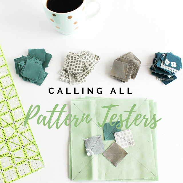 Quilt pattern testers wanted | Shannon Fraser Designs | Modern Quilting