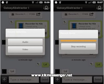 Recorder for Kik gratis para Android