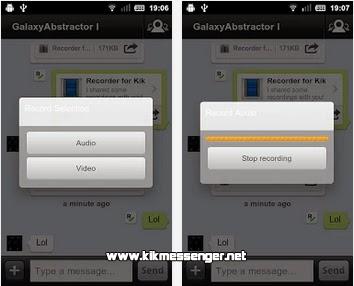 Recorder for Kik gratis para Android