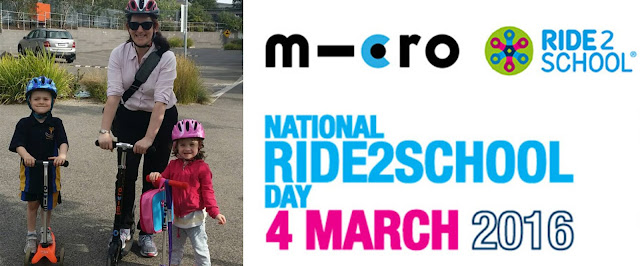 Winner of the Micro #Ride2School Competition