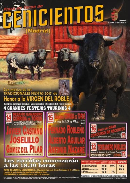 El toro de cenicientos feria del toro cenicientos 2017 for Feria del mueble madrid 2017
